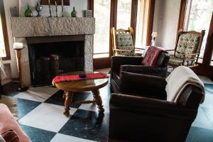 A seating area at Villa Moskoff
