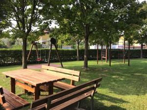 Children's play area at Kristall Lago Residence