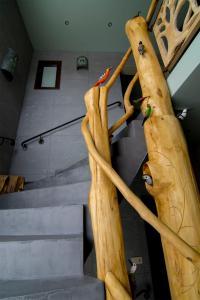 A bunk bed or bunk beds in a room at Apartamenty Inny Świat Zakopane