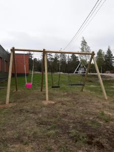 Children's play area at Lomakeskus Karemajat