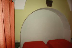 Letto o letti in una camera di Dammusi Mueggen