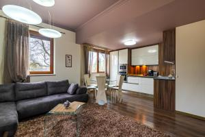 A seating area at Cosy Luxury Flat in the Centrum- 90sqm - 3 rooms.