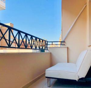 A balcony or terrace at Modern & Spacious 2 Bedroom in the center of Tirana