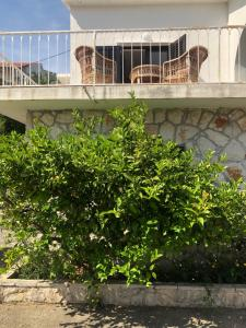 A balcony or terrace at Holiday Home with Sea view in Zavala