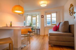 Гостиная зона в Appartement-Innsbruck