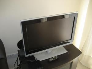A television and/or entertainment center at Anastasia Apartments