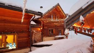 Les Chalets Du Queyras a l'hivern