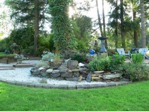 Jardin de l'établissement Stoneshire Guesthouse