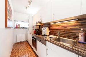 Küche/Küchenzeile in der Unterkunft Easyapartments Central