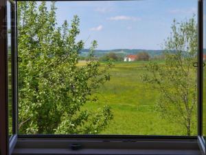 Ein Blick auf den Garten von der Unterkunft Ruhe auf dem Land aus oder aus der Nähe