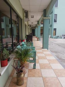The facade or entrance of Ecogreen Aparthotel