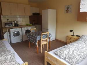 Küche/Küchenzeile in der Unterkunft Franz Berg Apartman Greimerath