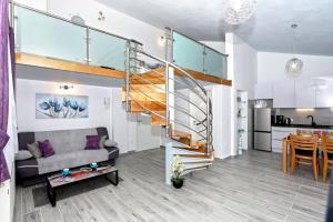Posezení v ubytování Apartman Kristian