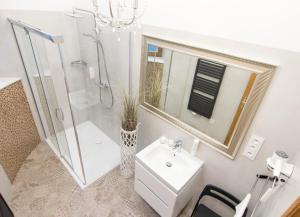 Kúpeľňa v ubytovaní Beautiful Cracow Apartments