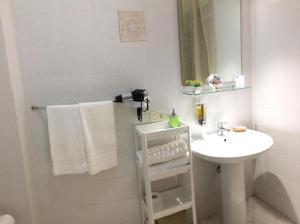 Et bad på Appartamenti Monacò