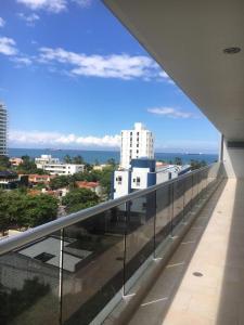 A balcony or terrace at Edificio Antares