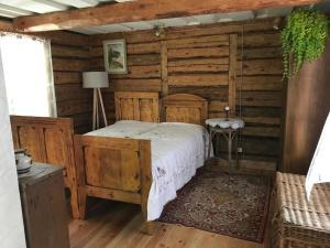 Llit o llits en una habitació de Liedegas