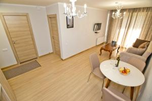 A seating area at Orbi Bakuriani apartment 729