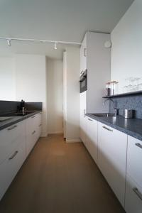 A kitchen or kitchenette at Business Guest House Groningen