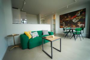 A seating area at Business Guest House Groningen
