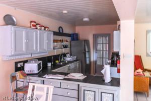 A kitchen or kitchenette at Maxxi Condo - Rodney Bay