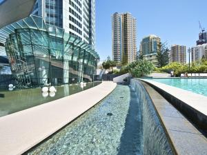 The swimming pool at or near Iconic Q Surfers Paradise 1 Bedroom