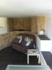 Ein Bett oder Betten in einem Zimmer der Unterkunft Gîte Polema