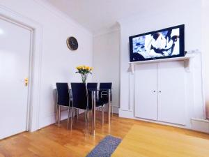 A television and/or entertainment center at Orchid 2 At Baker Street