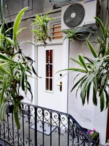 A balcony or terrace at Nice apartment in the city center