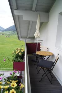 A balcony or terrace at Apart Konrad