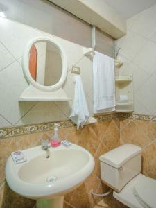 Un baño de Torre Blanca Apartament Cusco
