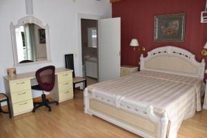 Lova arba lovos apgyvendinimo įstaigoje Villa Aušra