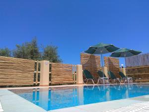 The swimming pool at or close to Stratos Villas