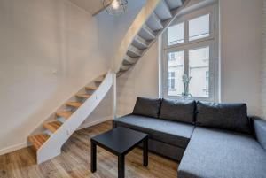 Area soggiorno di Lipowa Apartments
