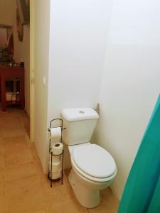 A bathroom at Casa Visconde de Alcácer