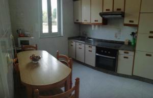 A kitchen or kitchenette at Casa Pozo das Leiras (Derecha)