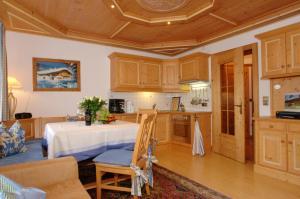 Küche/Küchenzeile in der Unterkunft Haus Lukasser