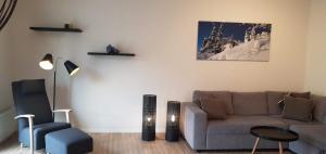 A seating area at Voss Apartments - Vangsgata 42
