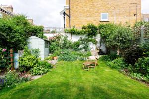 A garden outside Veeve - Garden Grove