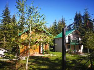 הבניין של בית הנופש