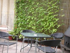 A porch or other outdoor area at Apartments Schramm
