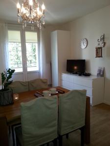 A seating area at Apartament Rajska II Old Town