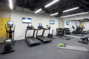 The fitness centre and/or fitness facilities at Sonder — Sixteen Hundred