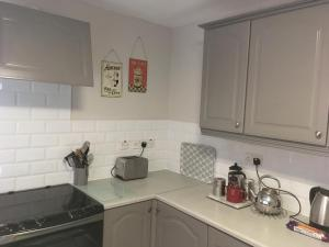 A kitchen or kitchenette at Terrific terraced house in Belfast