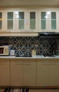 A kitchen or kitchenette at Shine Residences