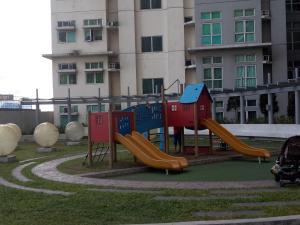 Children's play area at Fernandez condo