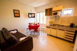 Cuisine ou kitchenette dans l'établissement Tower Rock Puerto Deseado Standard