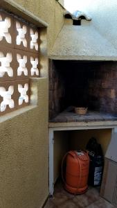 BBQ facilities available to guests at the holiday home