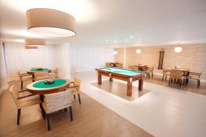 A billiards table at Barra Bali Cond Resort 327
