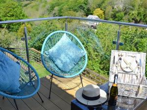 A balcony or terrace at Mortimore House